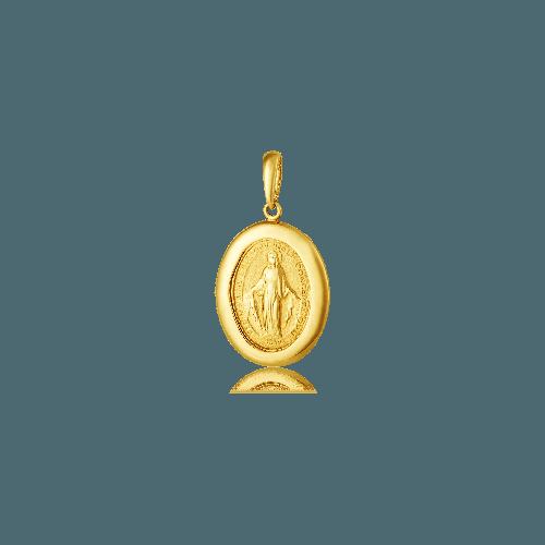 Pingente Nossa Senhora das Graças ouro 18k