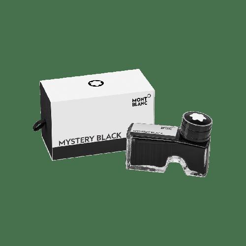 Frasco de tinta preta Montblanc Mystery 60 ml