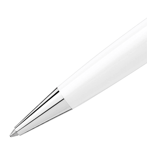 Caneta Esferográfica Montblanc Meisterstück Solitaire Classique Branco