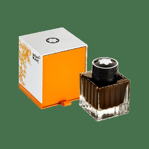 Frasco de tinta Montblanc 50 ml James Purdey & Sons aroma Single Malt