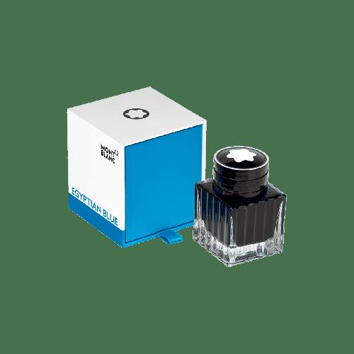 Frasco de tinta  Montblanc 30 ml, azul egípcio