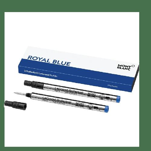 Refis Montblanc para rollerball LeGrand (M), Royal Blue - 2 unidades