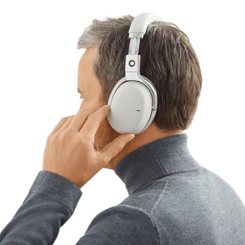 Fone de ouvido Montblanc cinza