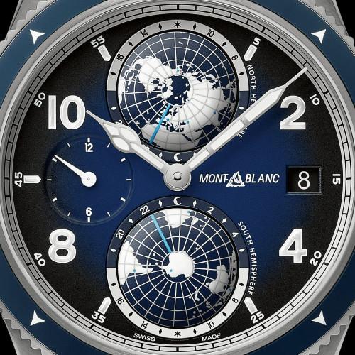 Relógio Montblanc Geosphere Azul