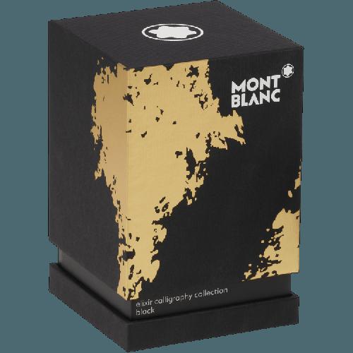 Frasco de tinta Montblanc Elixir Caligrafia Tinta Preta 50ml