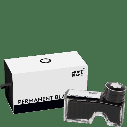 Frasco de tinta preto permanente 60ml