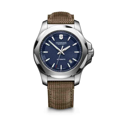Relógio Victorinox Masculino I.N.O.X. Mechanical Azul