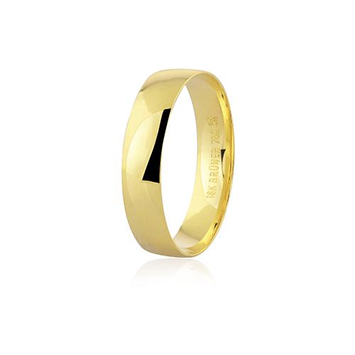 Aliança de ouro 18k (4.5mm)