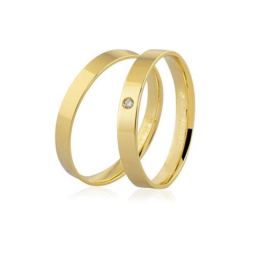 Aliança de ouro 18k (3mm)