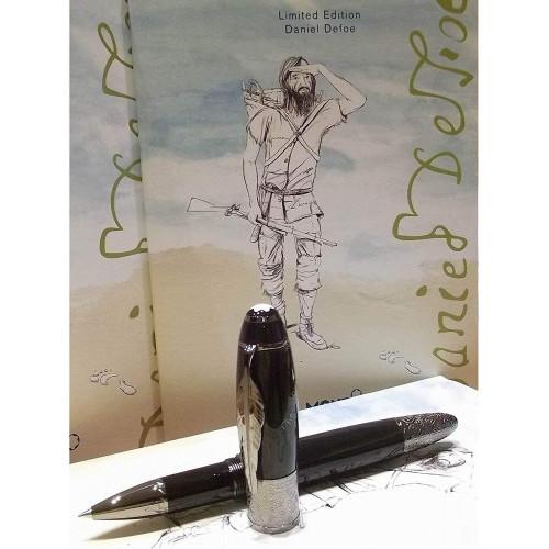 Caneta Montblanc Rollerball Writers Edition Daniel Defoe