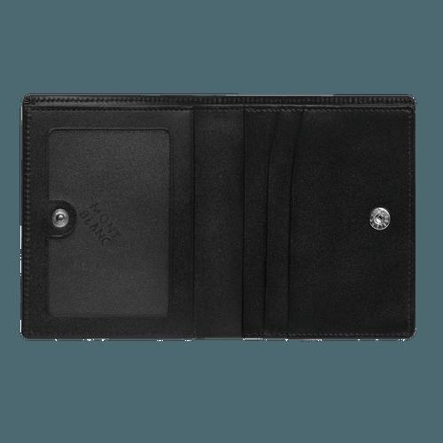 Carteira Montblanc Meisterstück de flap com compartimento de notas