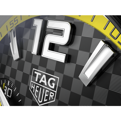 Relógio TAG Heuer formula 1 mostrador amarelo - CAZ101AC.FT8024