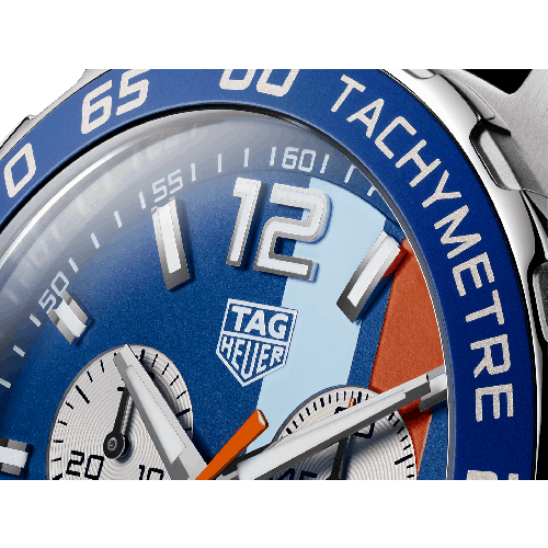 Relógio TAG Heuer Formula 1 a Quartzo pulseira couro azul - CAZ101N.FC8243