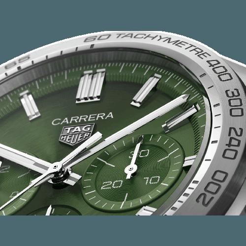 Relógio TAG Heuer Carrera 44 mm verde - CBN2A10.BA0643