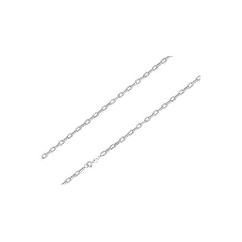 Corrente de ouro 18k branco cartier 45cm