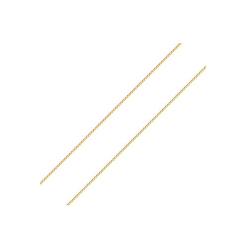 Corrente de ouro 18k veneziana 45 cm com regulador para 40cm