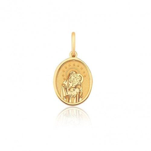 Pingente de ouro 18k Nossa Senhora do Carmo