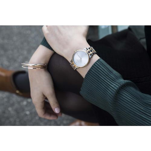 Relógio Wenger Feminino Urban Donnissima Dourado e Prata