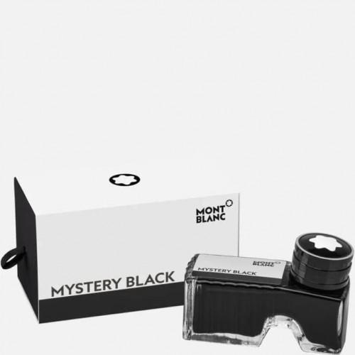 Vidro de tinta Montblanc Mystery Black 60ml
