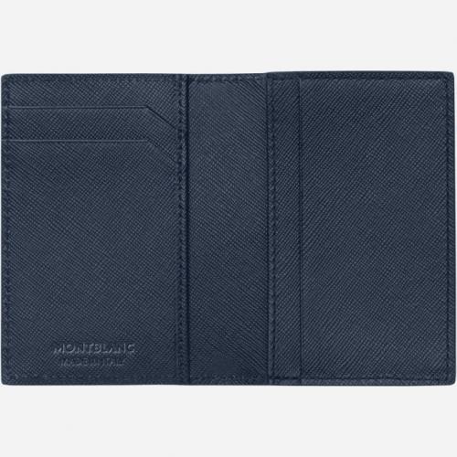 Porta cartão Montblanc Sartorial Azul