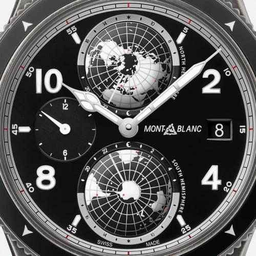 Relógio Montblanc 1858 Geosphere Limited Edition UltraBlack 42mm