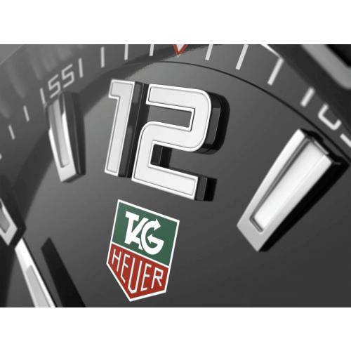 Relógio TAG Heuer Formula 1 a Quartzo Pulseira Preta 41 mm - WAZ1110.FT8023