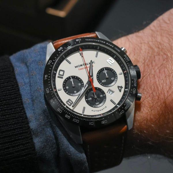 Relógio Montblanc TimeWalker fabricação cronógrafo