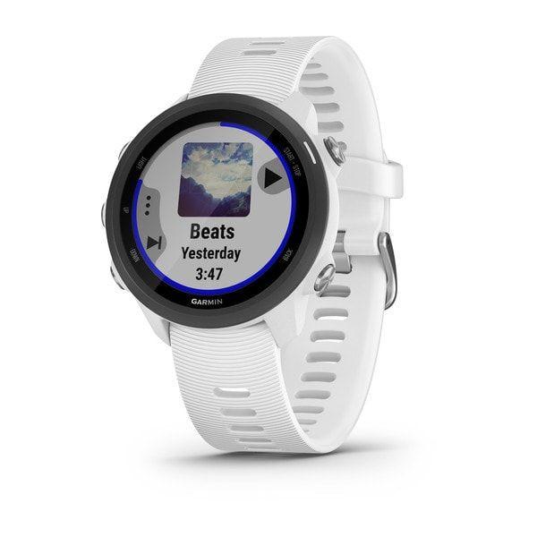 Relógio de Pulso com GPS Garmin Forerunner 245 Music Branco