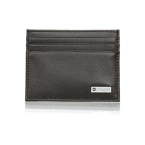 Porta cartão Victorinox Altius 3.0 Saporro – Porta Cartões de couro Preta