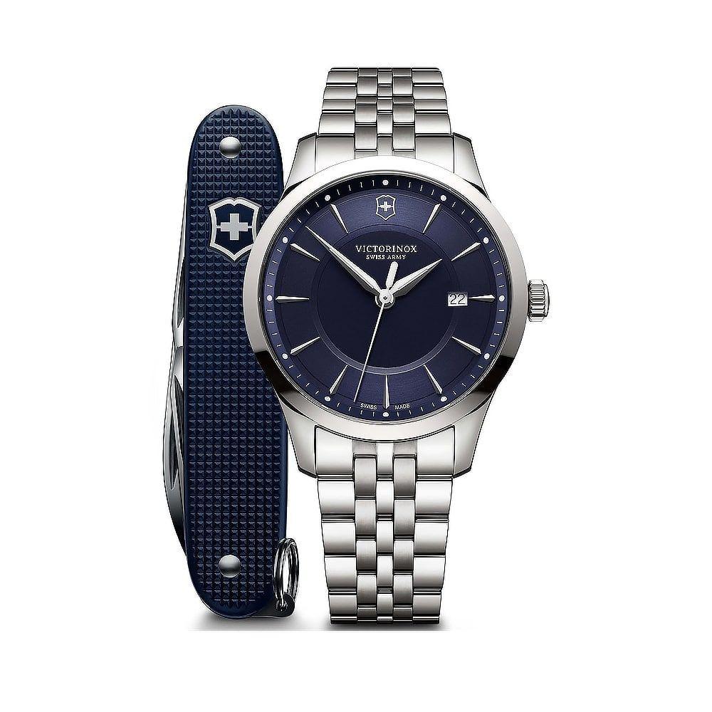 Relógio Victorinox Alliance com canivete do exército Suíço Pioneer