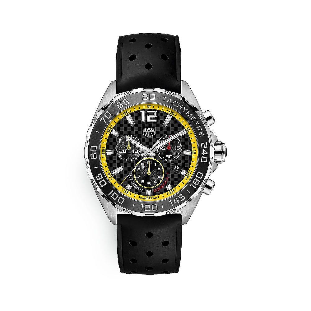 Relógio Tag Heuer formula 1 mostrador amarelo