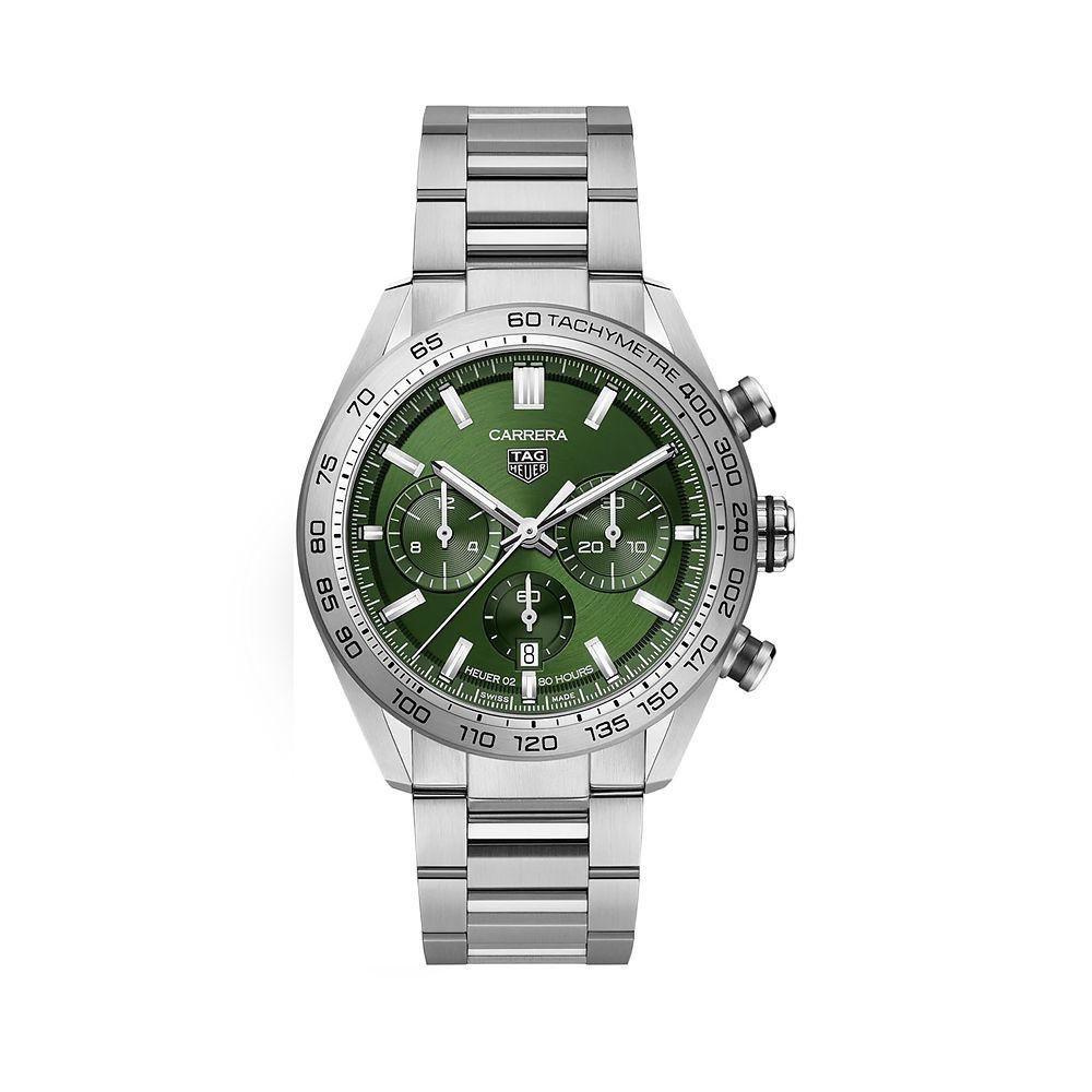 Relógio Tag Heuer Carrera 44mm verde