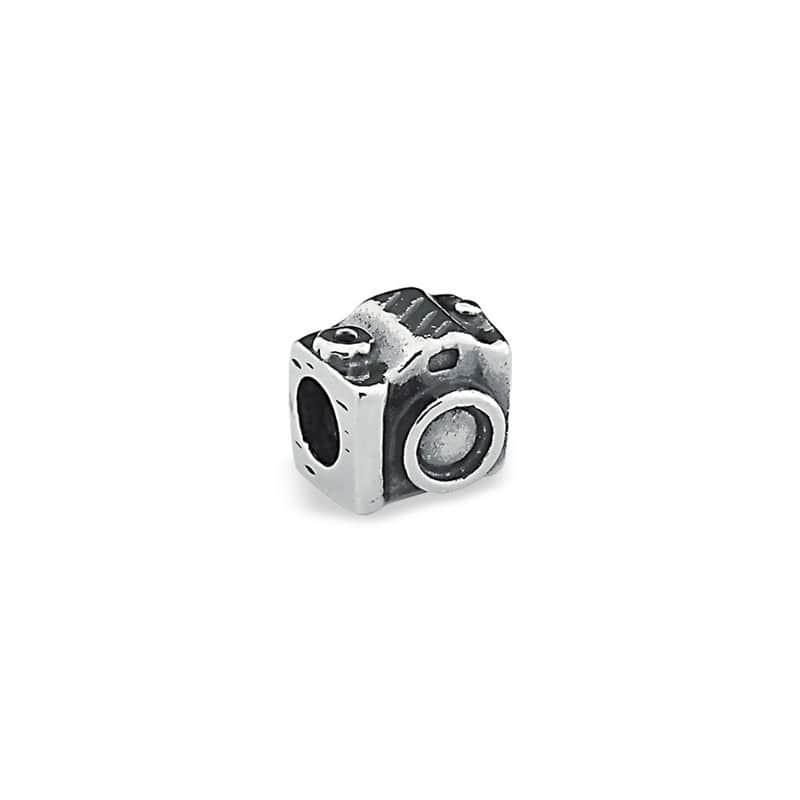 Berloque prata 925 envelhecida maquina fotográfica