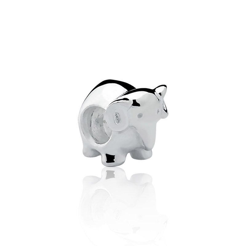 Berloque prata 925 elefante da sorte