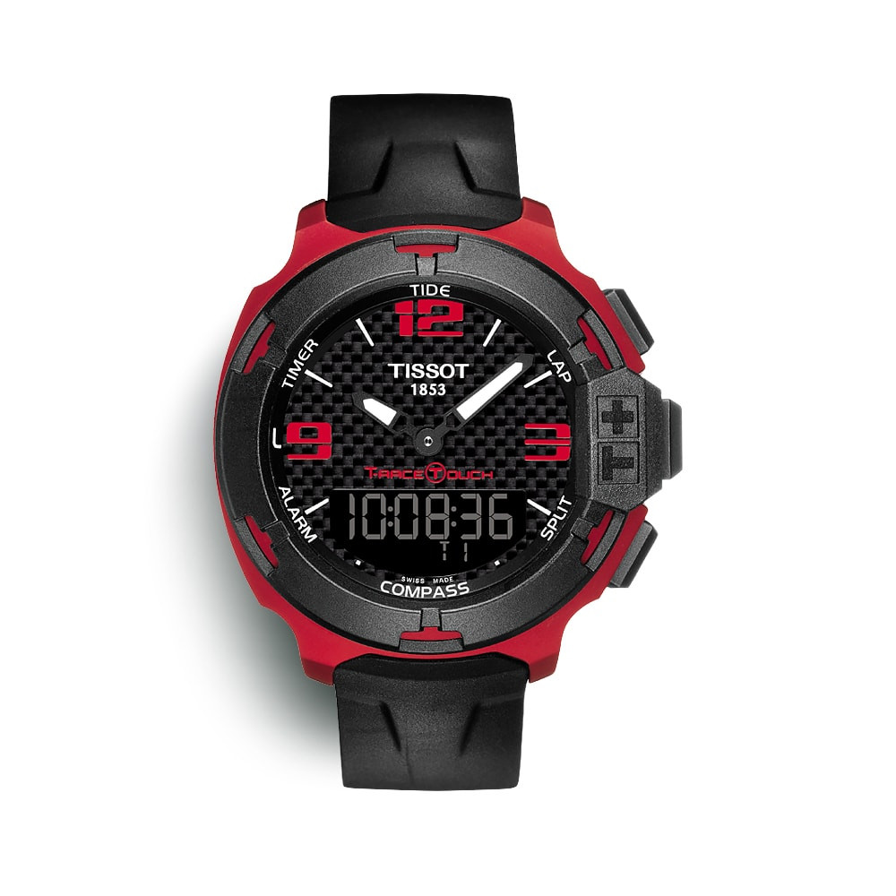 Relógio Tissot T-Race Touch Aluminium Black Sports Watch